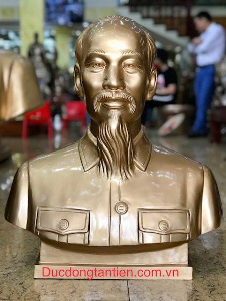 Tượng Bác Hồ Bán Thân H60cm