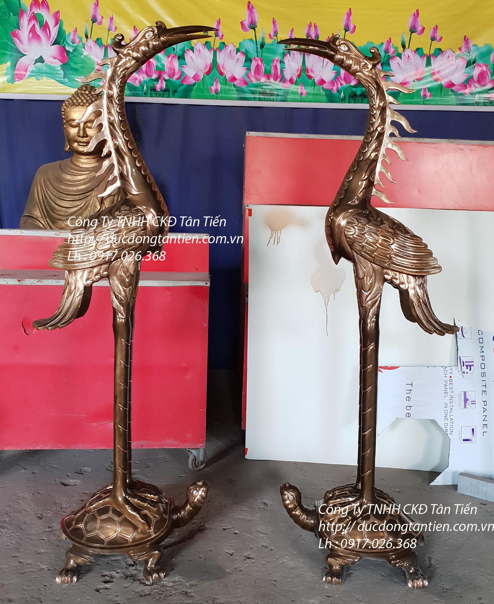 Hạc Chầu Cao 184cm