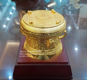 Quả Trống ĐK 12cm Mạ Vàng