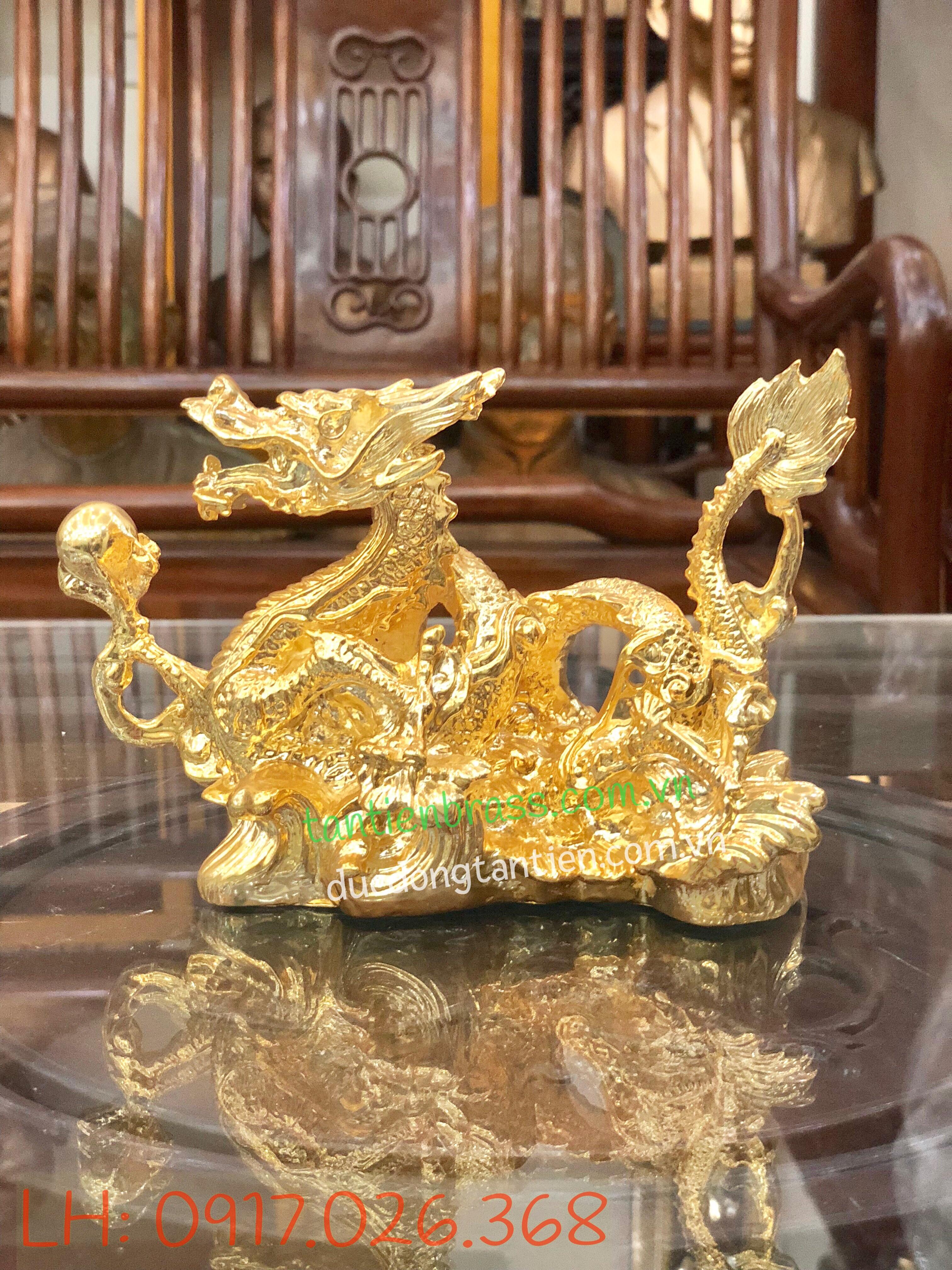 Rồng mạ vàng 01