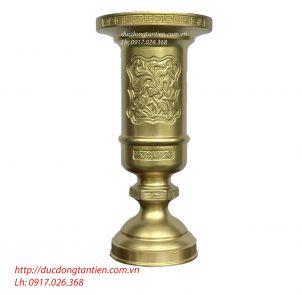 Ống Hương Đồng Vàng Cao Cấp