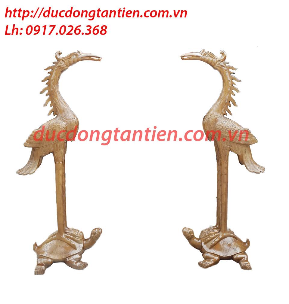 Hạc Chầu Ngậm Ngọc Cao 167cm