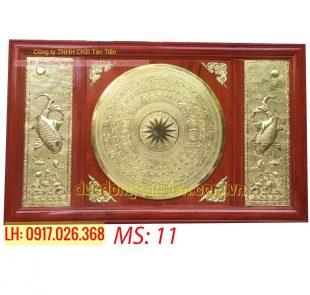 Tranh Mặt Trống Đồng TMT01