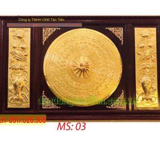 Tranh Mặt Trống Đồng TMT02