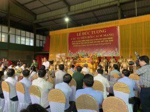 Lễ Đúc Tượng Các Vị Tiền Bối Cách Mạng an vị tại Tân Trào Tuyên Quang