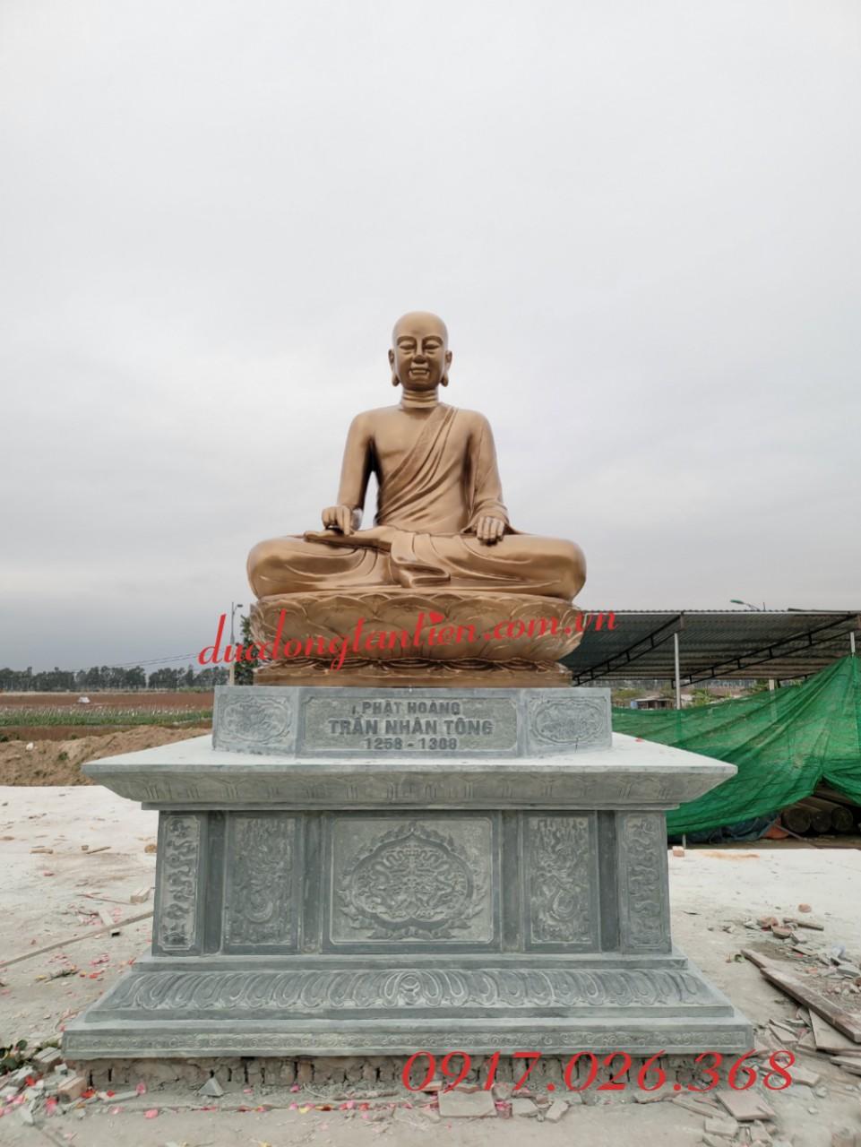 Tượng Phật Hoàng Trần Nhân Tông