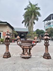 Bộ Lư Hương Đồng